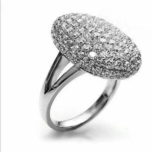 925 Silver twilight romantic ring.